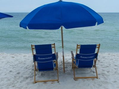 Relax on Navarre Beach