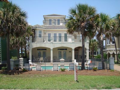 Destin house rental - Destin's Destiny's Front Elevation