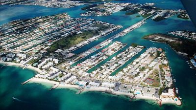 Key Colony Beach Aerial Photo