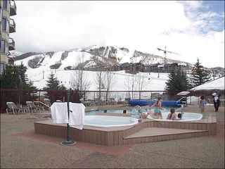 Steamboat Springs condo photo - Slopeside Heated Pool & 4 Hot Tubs are right outside.