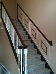 Main staircase - Albrightsville house vacation rental photo