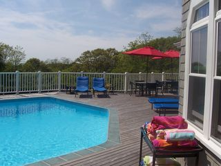 Falmouth estate photo - Heated Swimming Pool