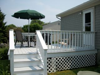 Scarborough Beach house photo - Enjoy the ocean breeze and grill out on the deck