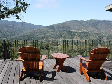 Carmel Valley bungalow rental - Perfect spot to enjoy a book, coffee, or glass of wine..