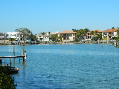 View from the dock - fishing, kayaking, dining ... all from your back yard.