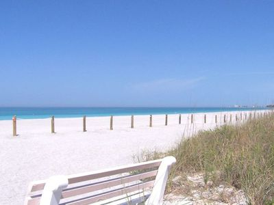 200 ft, cool, sandy beach! walk 4 miles!! private cabana,pool,rest rm; 2nd pool
