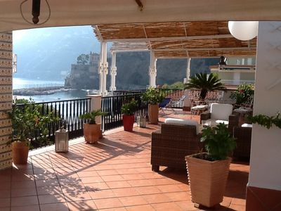 A Wonderful Waterfront Apartment in the Heart of the Amalfi Coast