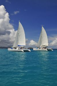 Truly a vacation in Paradise! Sail aboard quest, a luxury 4 cabin catamaran!