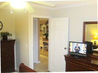 Harbor Island house photo - All 3 bedrooms have cable TV and DVD players like in the master shown here.