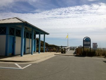 Beach access w/ restrooms & lifeguard - just a short stroll (5 properties down)