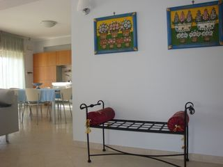 Taormina apartment photo - kitchen and dining area seen from entrance
