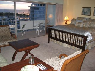Waikiki condo photo - View from kitchen