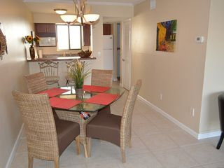 Ormond Beach condo photo - Dining room and view of kitchen
