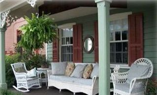 Cape May house photo - front porch