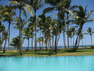Punta Cana condo photo - View from Infinity Pool