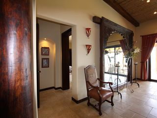 Playa Panama villa photo - The huge Balinese mirror in the reception/lounge area.