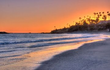 One of Laguna Beach's famous Sunsets and just a short stroll away!