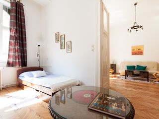 Budapest apartment photo - Spacious second room with view of living room