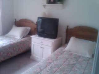 Fryeburg house photo - Spare Bedroom with VCR/DVD combo.
