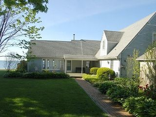Hampton Bays house photo - Fenced in Front Lawn
