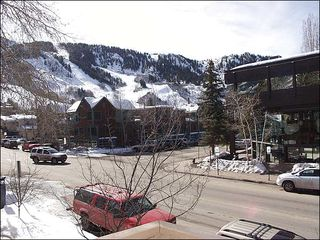 Aspen townhome photo - View of slopes from deck