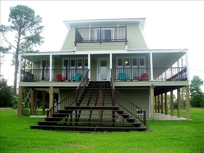 Back Deck and Staircase