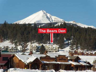The Bears Den and Lone Peak