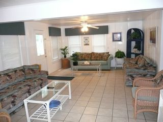 Crescent Beach cottage photo - First floor living room.....so spacious!