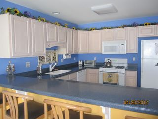Wildwood condo photo - An all option kitchen just in case you want to cook!Your on vacation though.