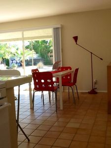 Palm Springs apartment rental - Dining area.....