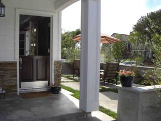 Corona del Mar house photo - Dutch door which is a staple in corona del mar