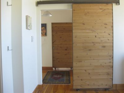 Custom hand made sliding doors