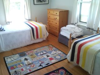 Twin Guest Bedroom - Tom Nevers house vacation rental photo