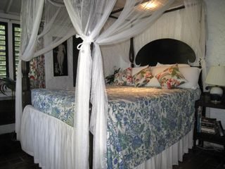 Tortola house photo - Canopy bedroom