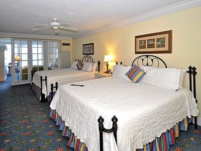 Sleeping Area, 2 King Size beds with pillow top mattresses for maximum comfort