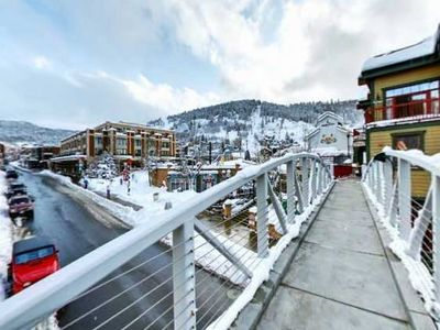 Marriott's Summit Watch is situated in the heart of Park City.