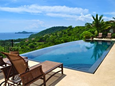 View of Gulf of Papagayo from Infinity Pool