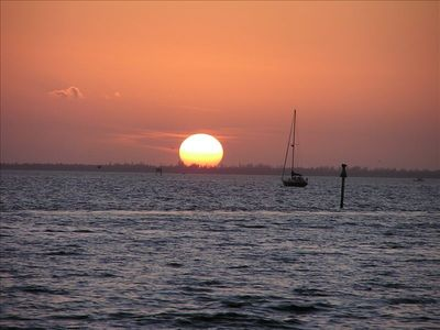 Another day in Paradise! Sunset at Ponce de Leon park -only a 5 minute drive