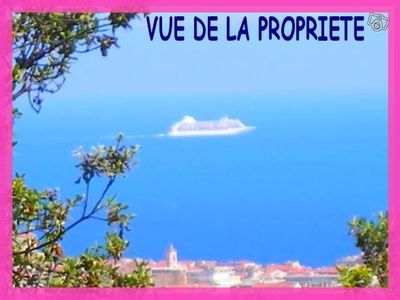 *** PROMOTION *** F1 VILLA NICE CENTRE fantastic garden Parking Sea View