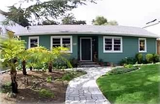 Santa Cruz house rental - BeachBreak Bungalow - cottage on a huge lot with beautiful backyard gardens
