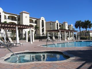 Flagler Beach condo photo - Relax in the Hot Tub & Pool