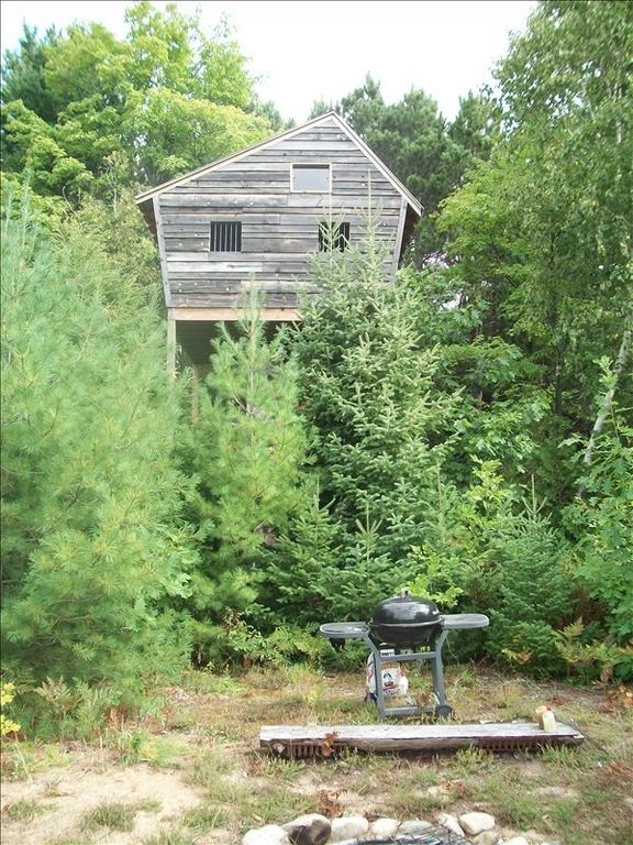 Tree House with cook out area in ten acre meadow