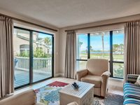 819 Harbour Point, Sandestin Condo with Water & Golf Course Views, Corner Unit