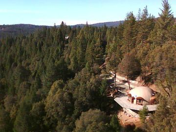 Chicago Park house rental - The dome overlooks virgin Sierra forest land