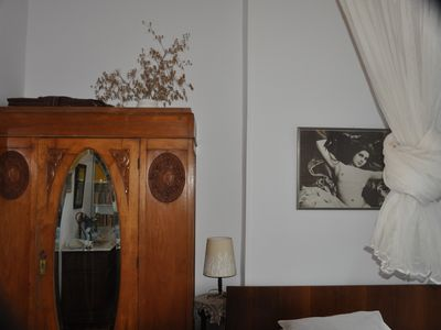 Lesbos villa rental - Villa Molova, first floor Double Bedroom