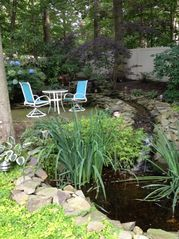 Riverhead house photo - Waterfall/Pond