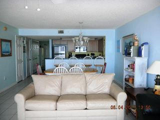 Open floor plan! - Folly Beach condo vacation rental photo