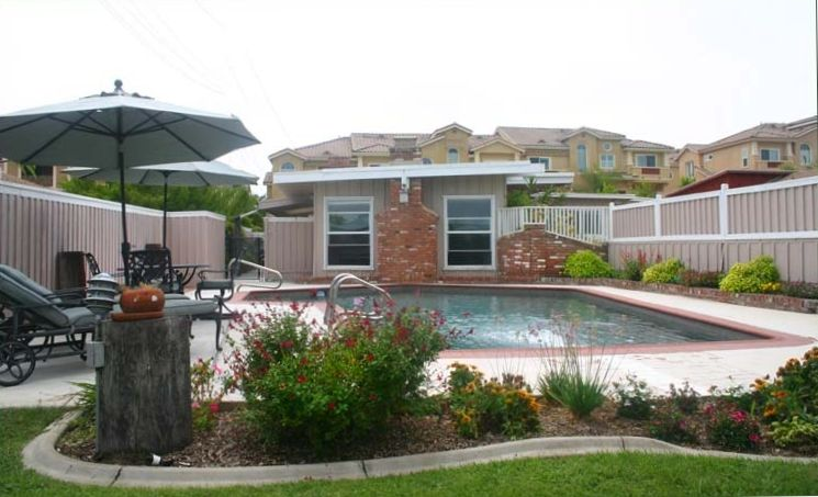 luxury bungalow with private pool 1 block vrbo