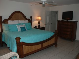 Key Colony Beach house photo - Master, new Tommy Bahama furniture & new pillow-top mattress
