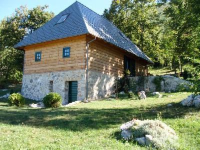 House with character near Plitvice lakes